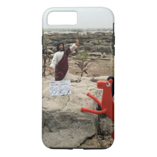 Action Figure Jesus Visits the Great Lakes iPhone 7 Plus Case