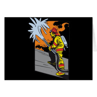 Action Firefighter Card