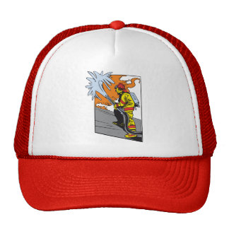 Action Firefighter Mesh Hats