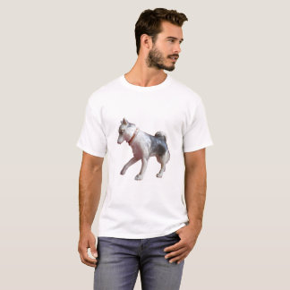 Action Man Husky Dog Arctic Explorer T Shirt. T-Shirt