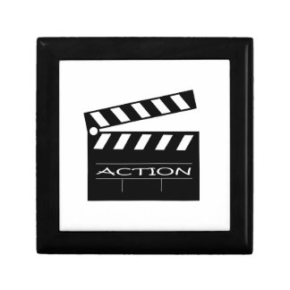 Action - movie. gift box