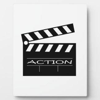 Action - movie. plaque