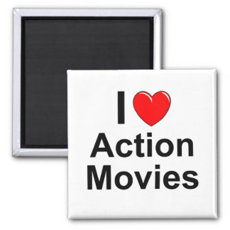 Action Movies Magnet