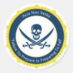 Action Not Words - Latin- Acta Non Verba