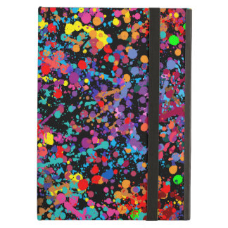 Action Painting Splatter Art Cover For iPad Air