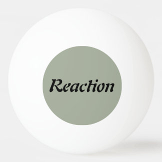 Action / Reaction - Ping Pong Ball
