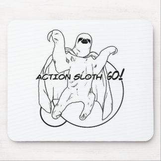 Action Sloth, Go! Mousepad