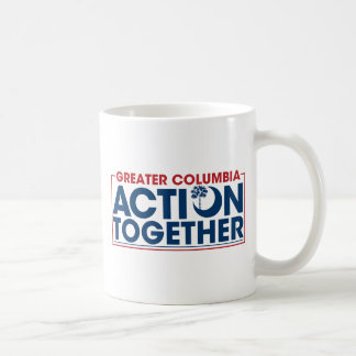 ACTION TOGETHER LOGO COFFEE MUG
