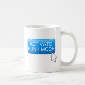 Activate hunk mode. coffee mug