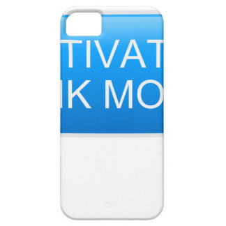 Activate hunk mode. iPhone 5 case