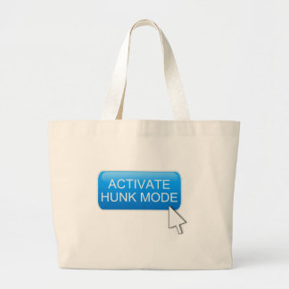 Activate hunk mode. large tote bag