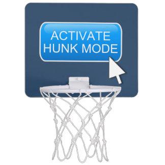 Activate hunk mode. mini basketball hoop