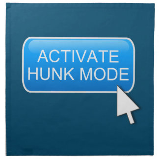 Activate hunk mode. napkin