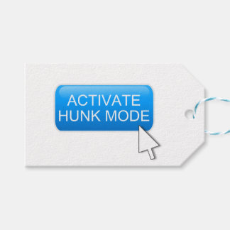 Activate hunk mode. pack of gift tags