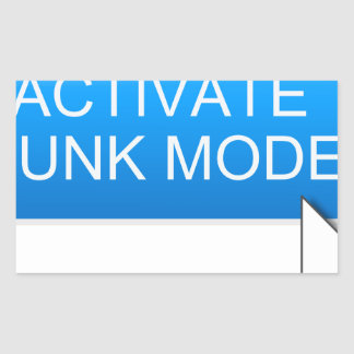 Activate hunk mode. sticker