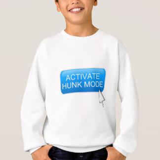 Activate hunk mode. sweatshirt