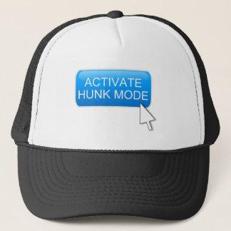 Activate hunk mode. trucker hat