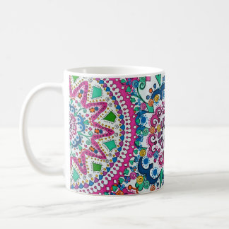 Activating Abundance Healing Mandala Art Mug