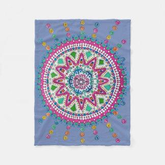 Activating Abundance Healing Mandala Blanket