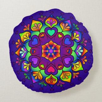 Activating Higher Self Healing Art Mandala Cushion