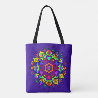 Activating Higher Self Healing Mandala Tote Bag