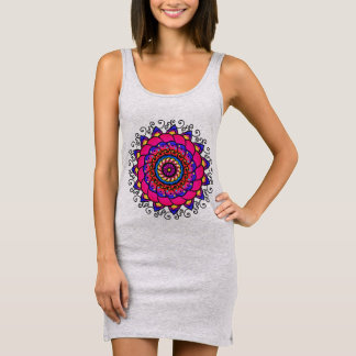 Activating Intuition Healing Mandala Dress