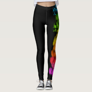Activating Peace Healing Mandala Art Leggings
