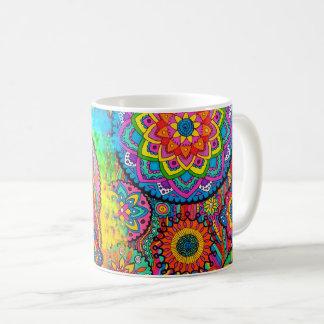 Activating Peace Healing Mandala Art Mug