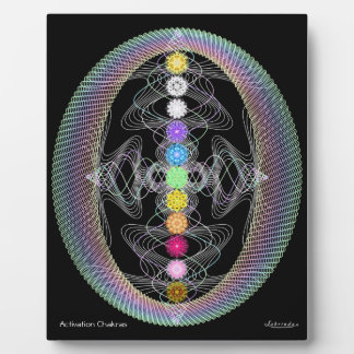 Activation Chakras Plaque