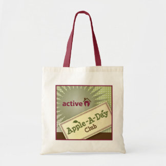 Active Apple Bag! Patch FUN Tote Bag