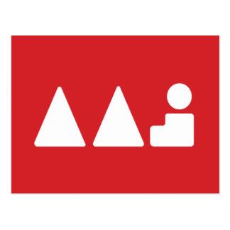 Active Art Jam Logo Postcard
