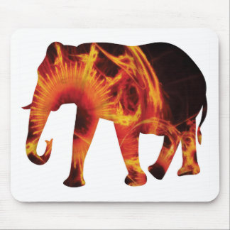 Active Elements Fresh and inspiring Elephant Art – Mouse Pad