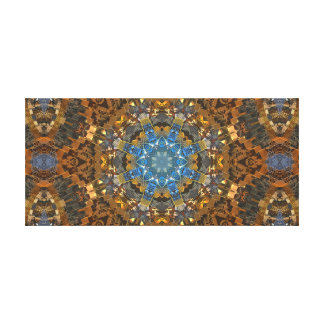 Active Kaleider Collider Canvas Print