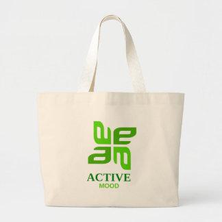 active mood large tote bag