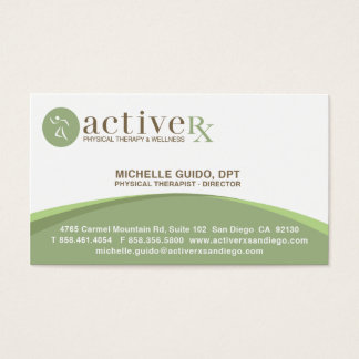 active rx business card