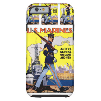 Active Service on Land and Sea Tough iPhone 6 Case