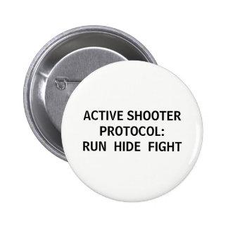 Active Shooter Protocol Button