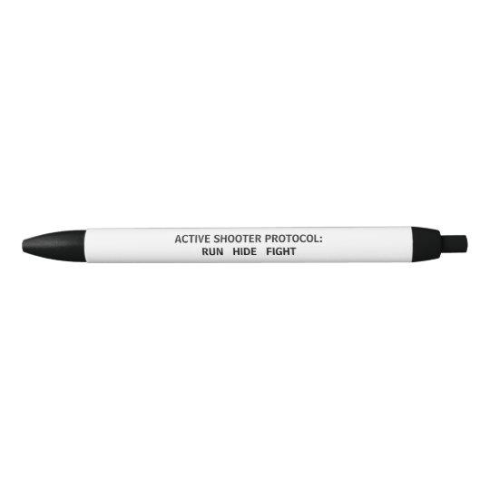 Active Shooter Protocol Pen