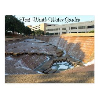 Active Water Pool - Fort Worth Water Garden # 19 Postcard