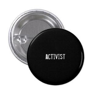activist pinback button