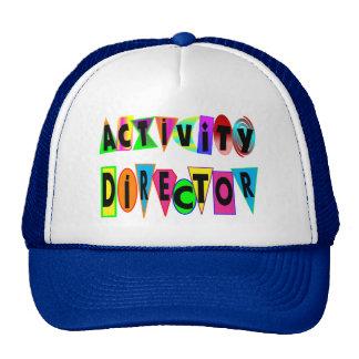 ACTIVITY DIRECTOR TRUCKER HAT