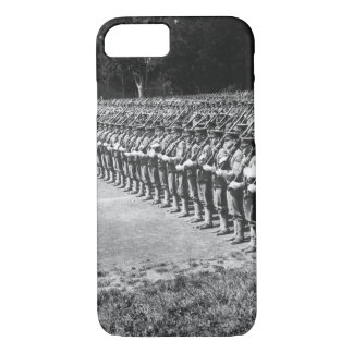 Activity in the ranks of University of_War Image iPhone 7 Case