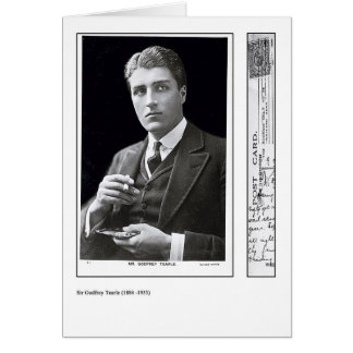 Actor Godfrey Tearle Greeting Card