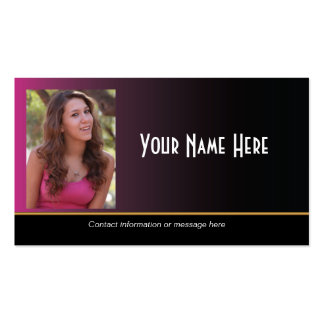 Actor Business Cards 2 100 Business Card Templates