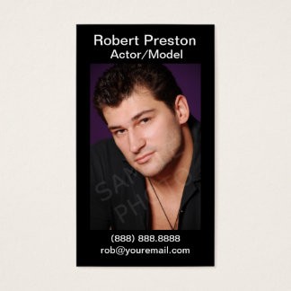 actor business cards and business card templates zazzle canada. Black Bedroom Furniture Sets. Home Design Ideas