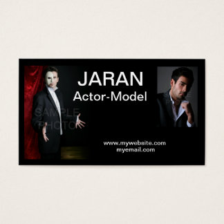 Actor Business Cards and Business Card Templates