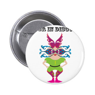 Actor in Disguise ai Pinback Button