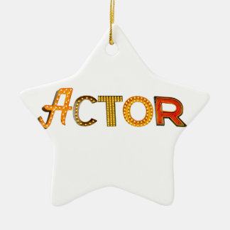 Actor in Lights Ornament