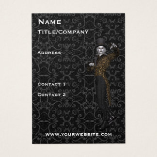 Actor Magician Drama theatre Business Card