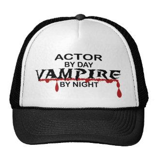 Actor Vampire by Night Trucker Hat